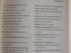 Tasavvuf Sözlüğü, T başlığından bir örnek, s. 123