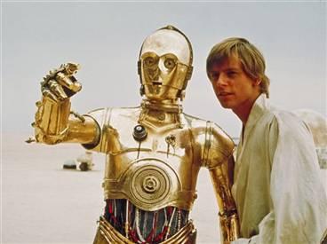 C-3po ve Luke