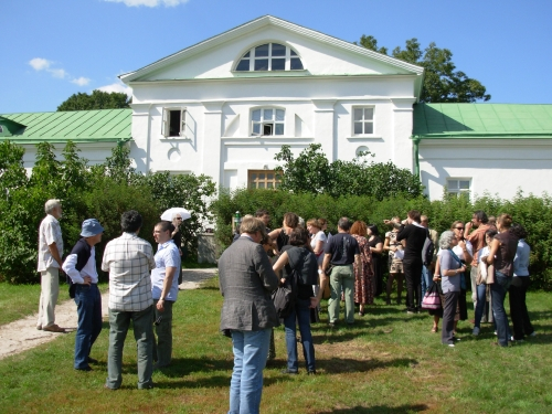 Translators at Yasnaya Polyana