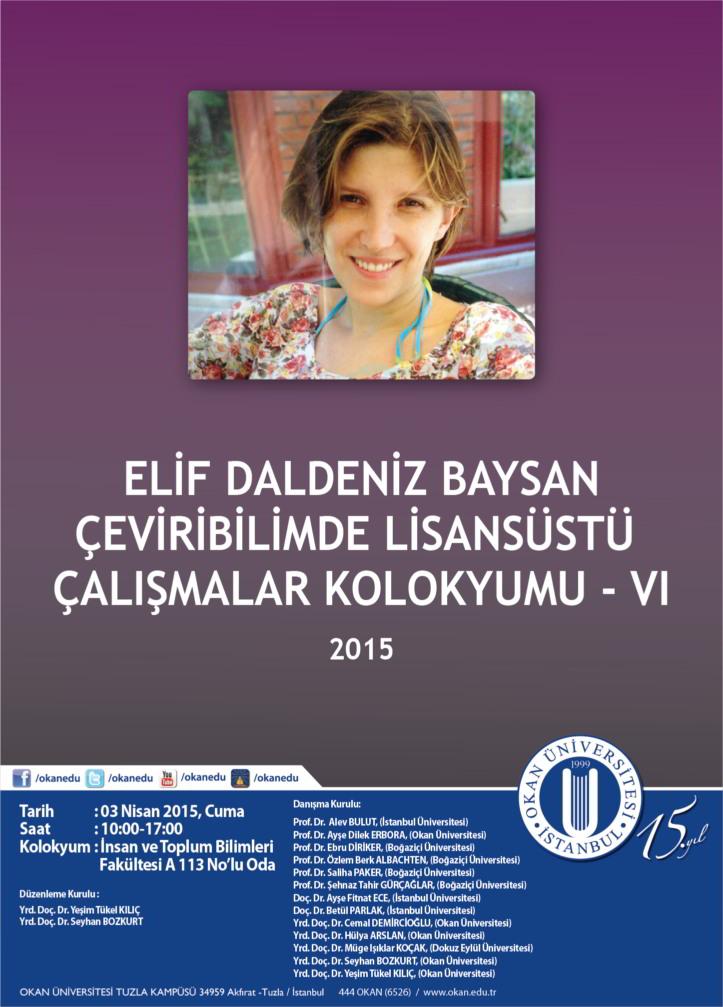 Afiş Elif Daldeniz