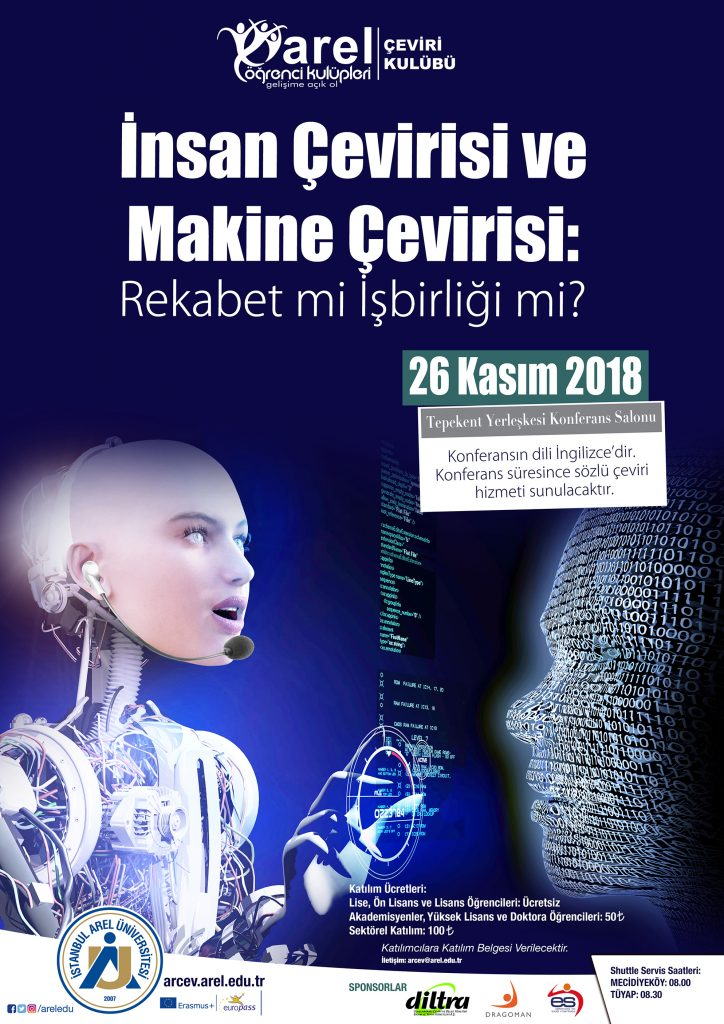 Arel_Makine Cevirisi_TurkceAfis